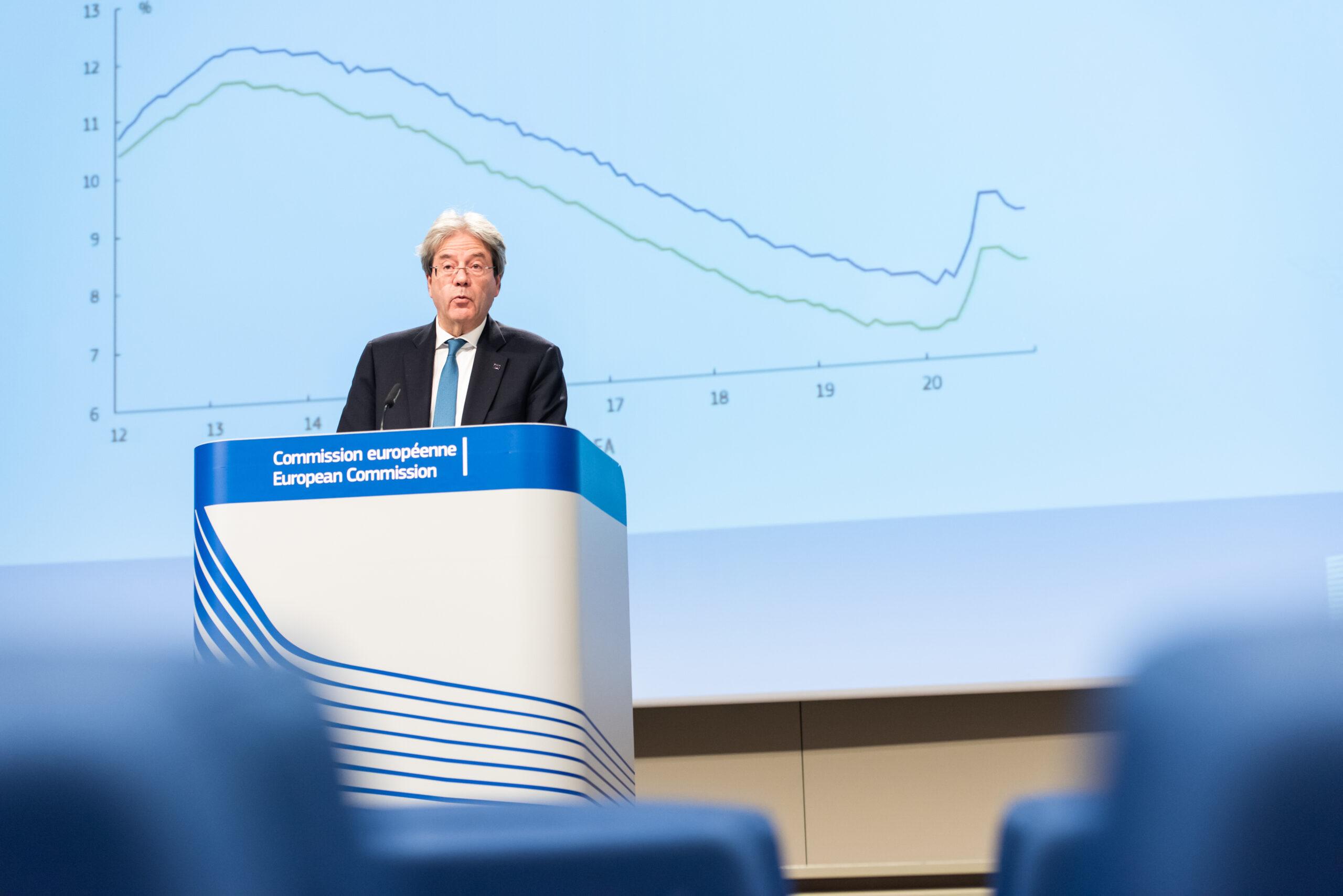 El comissari d'Economia, Paolo Gentiloni | ACN
