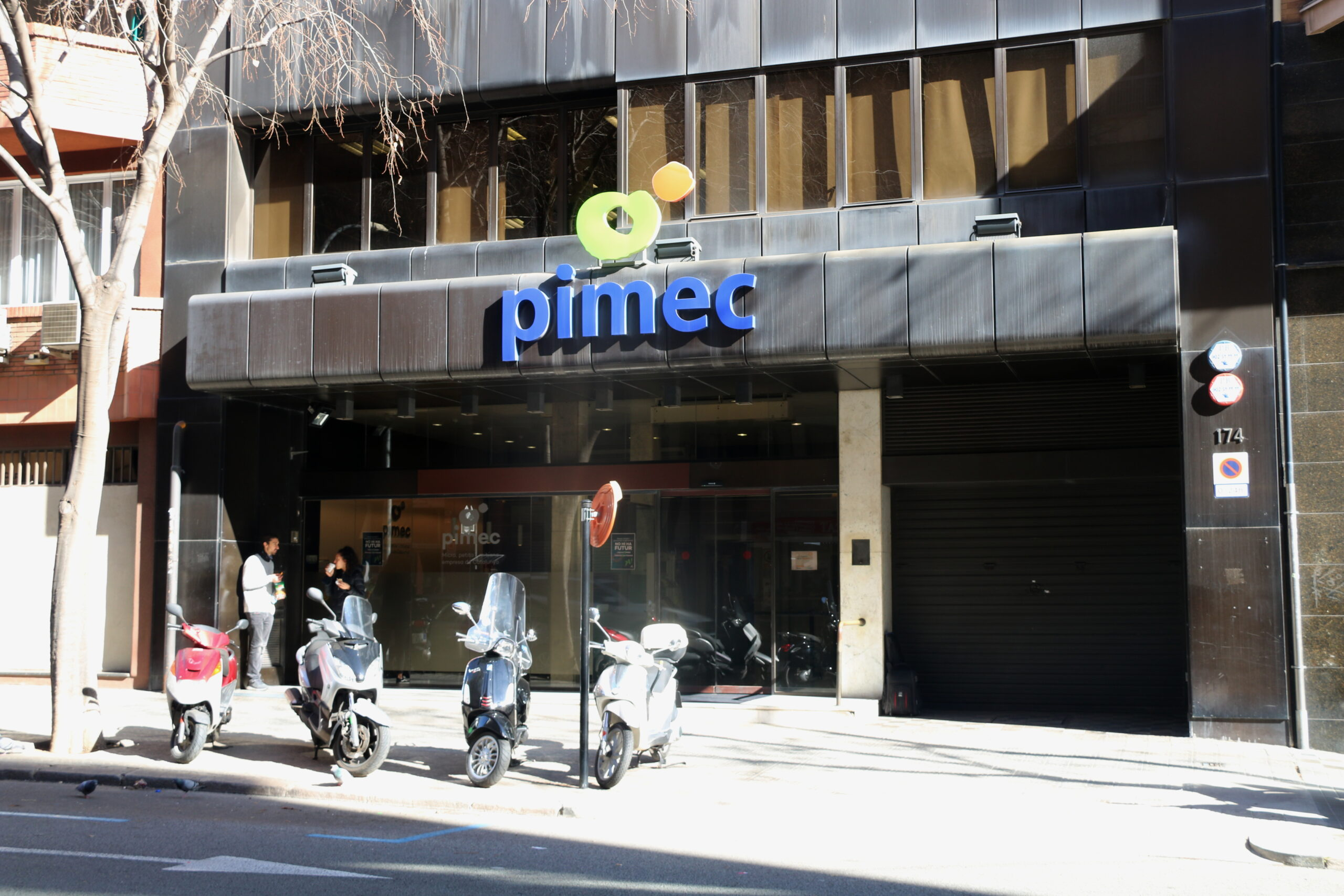 La seu de Pimec a Barcelona / ACN