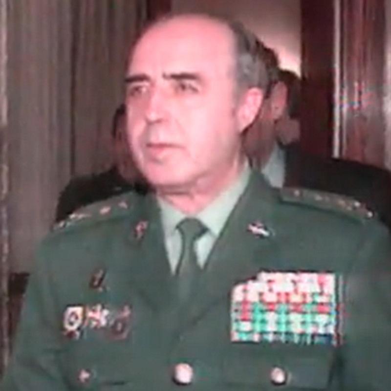Enrique Rodríguez Galindo .   (Foto de ARCHIVO) 4/10/2013