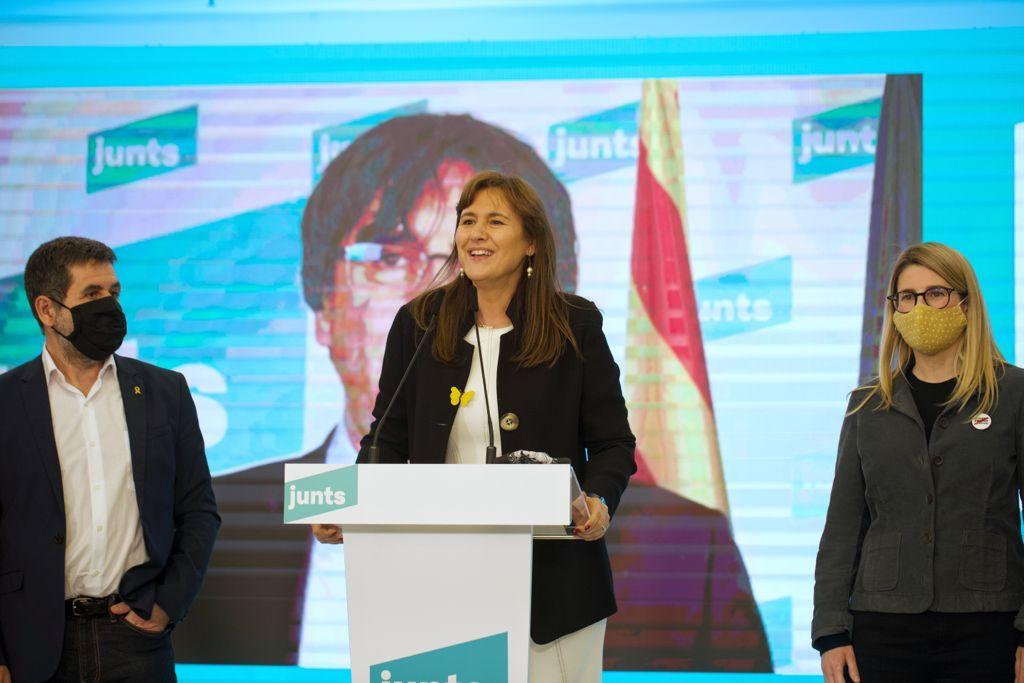 Junts defensa un tripartit independentista per ser fidels als resultats del 14F / Mireia Comas