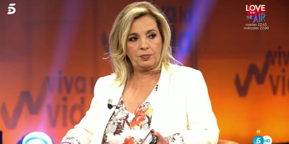 Carmen Borrego s'enfronta a la neboda - Telecinco
