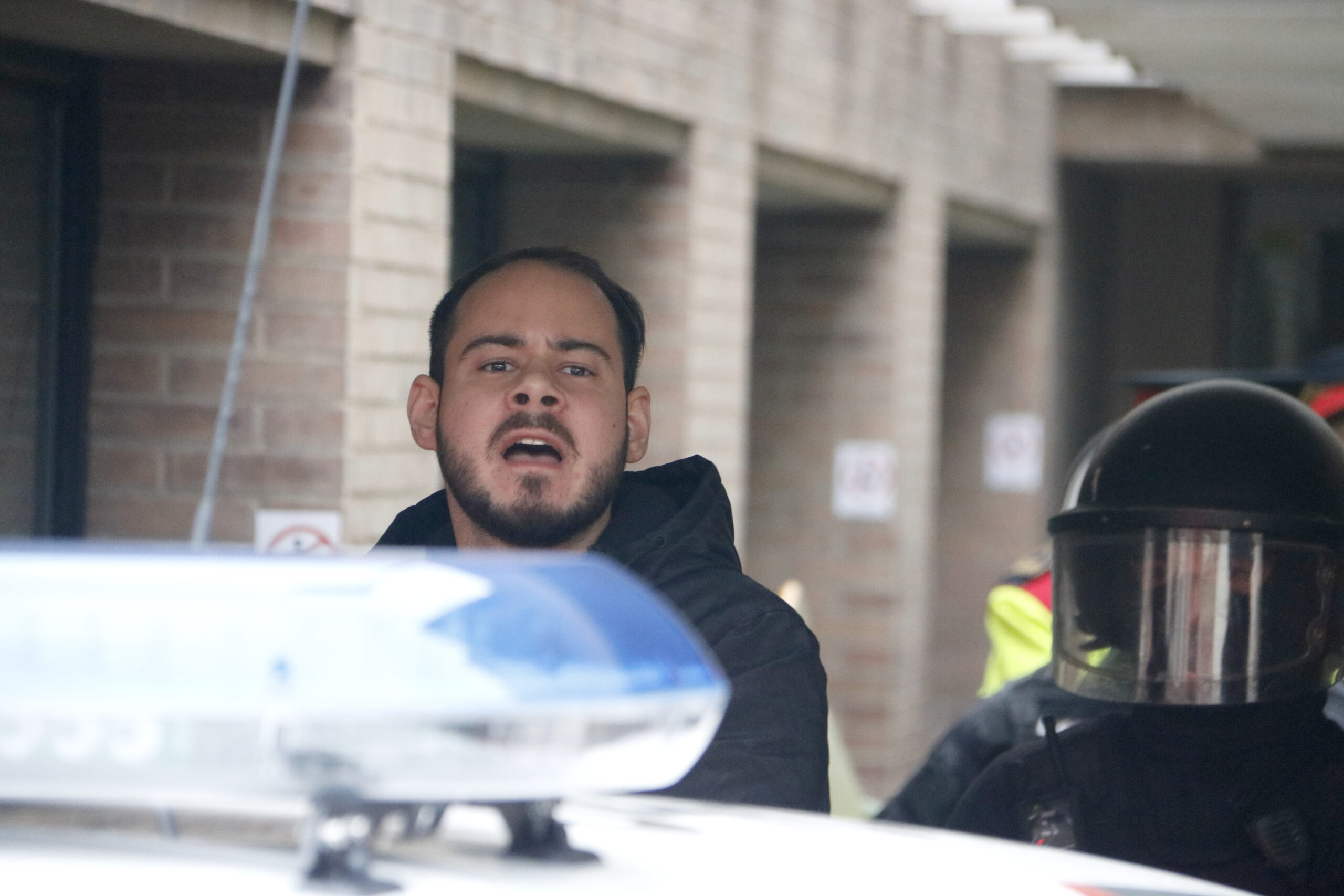 Els Mossos s'emporten detingut el raper Pablo Hásel | ACN
