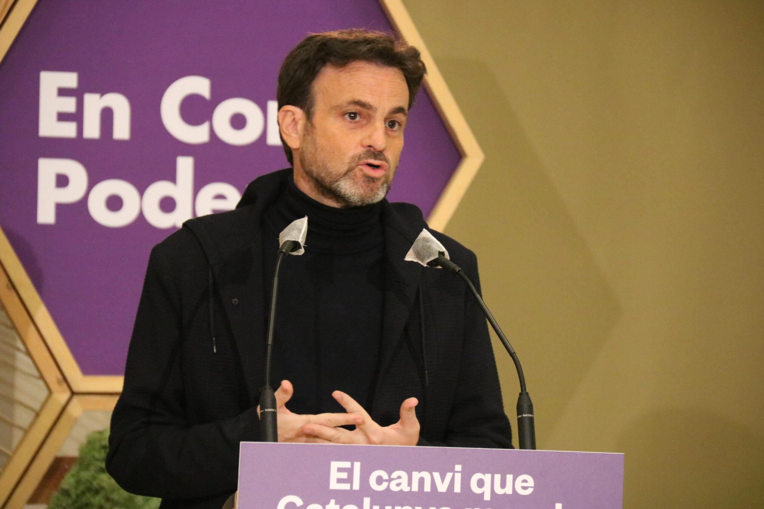 El portaveu d'Unides Podem a Congrés, Jaume Asens | ACN