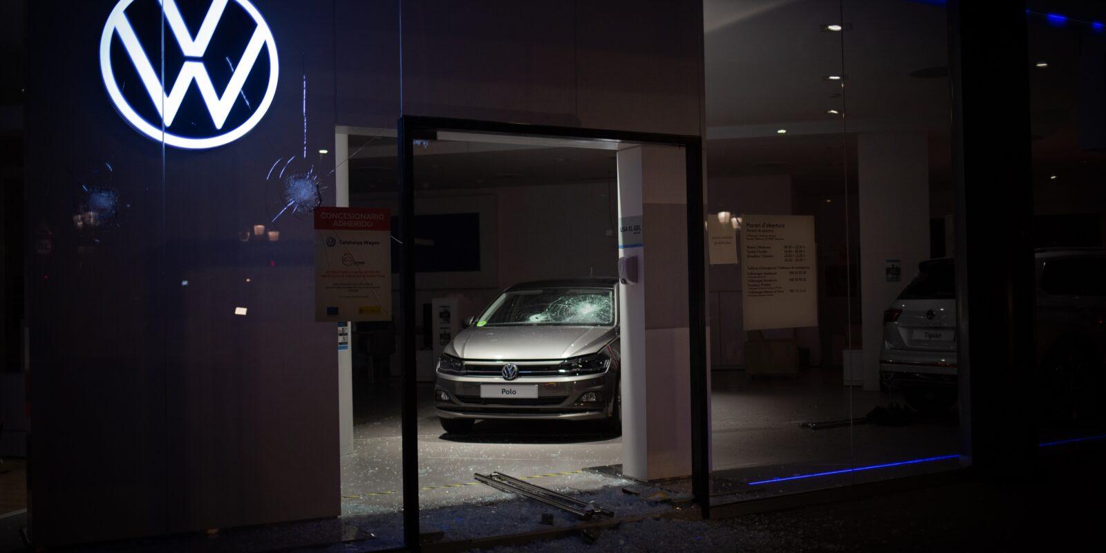 Un concessionari de Volkswagen a Barcelona  / Europa Press