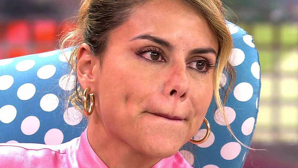 Mónica Hoyos plora a 'Sálvame' - Telecinco