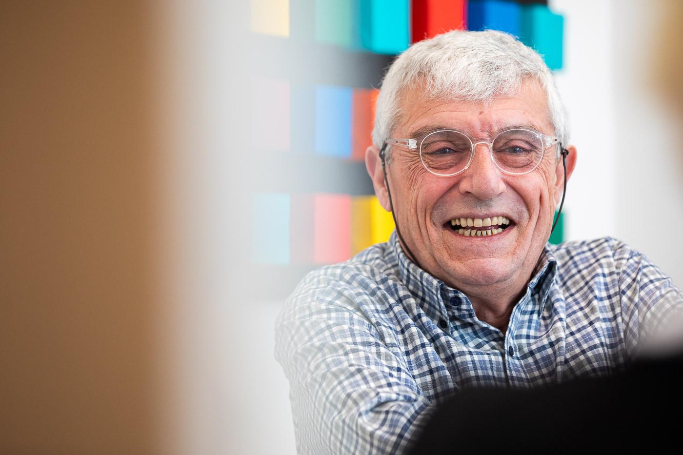 Mercè Comas és una de les fundadores del banc 11Onze JORDI BORRÀS