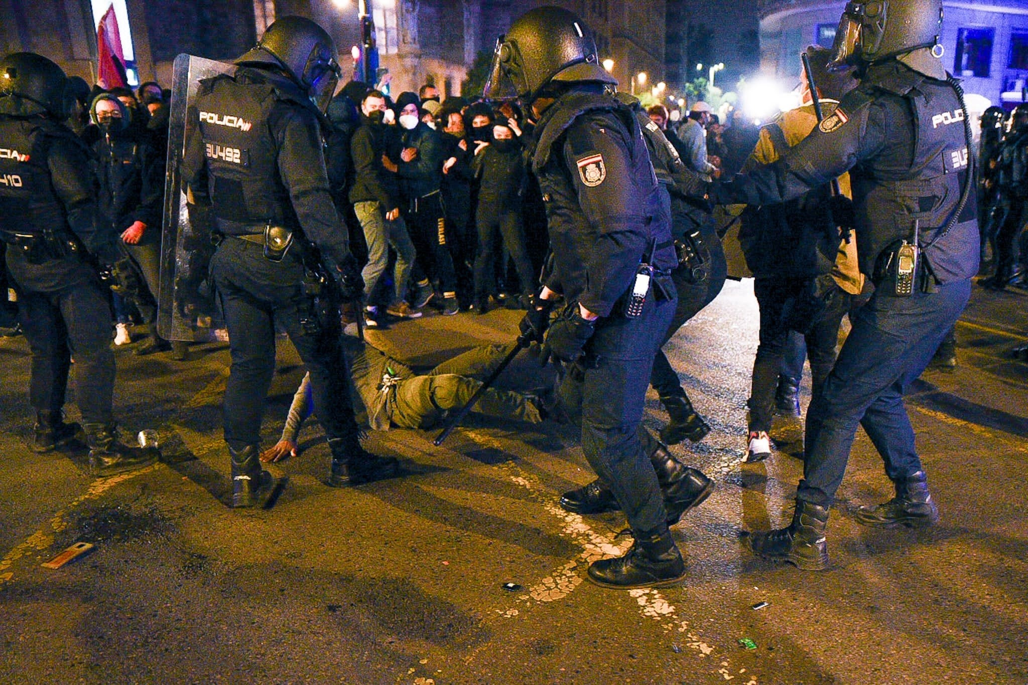 Càrregues a València /EP