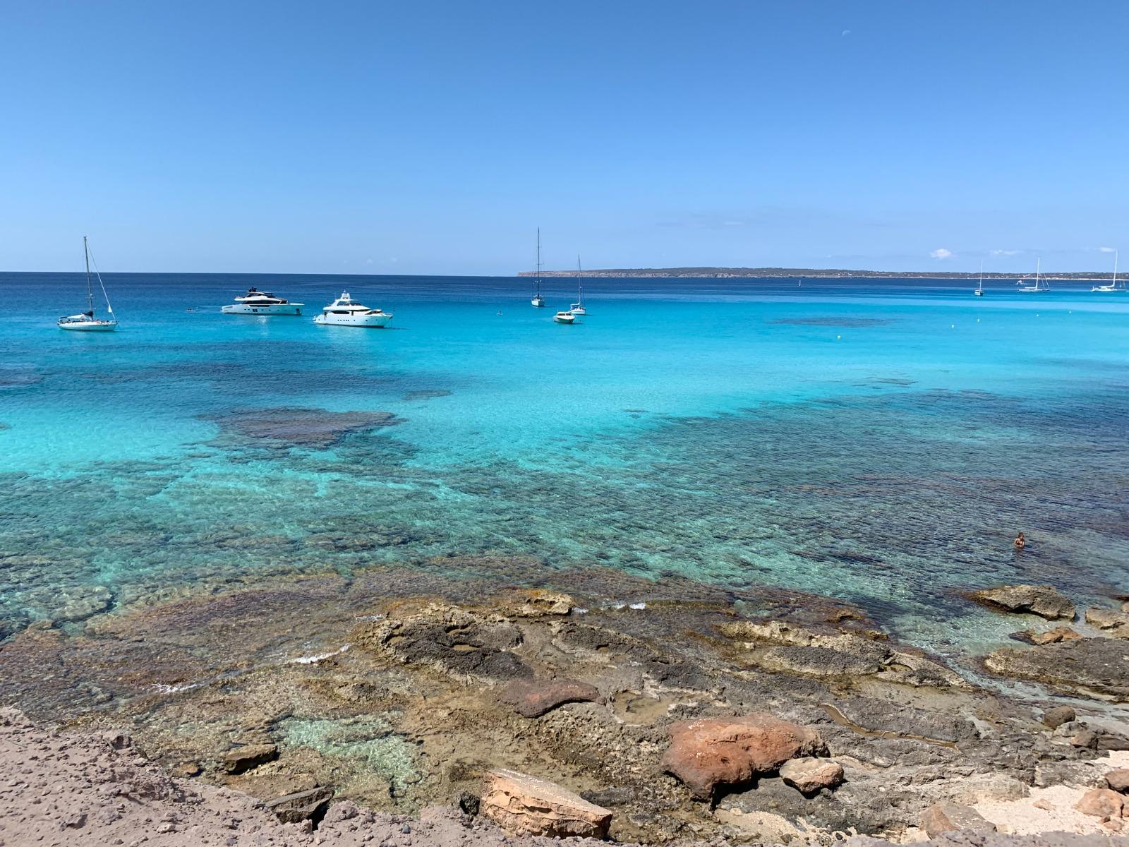 Imatge d'una platja de Formentera