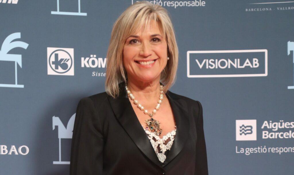 Julia Otero, en els premis Ondas del 2019 - Europa Press