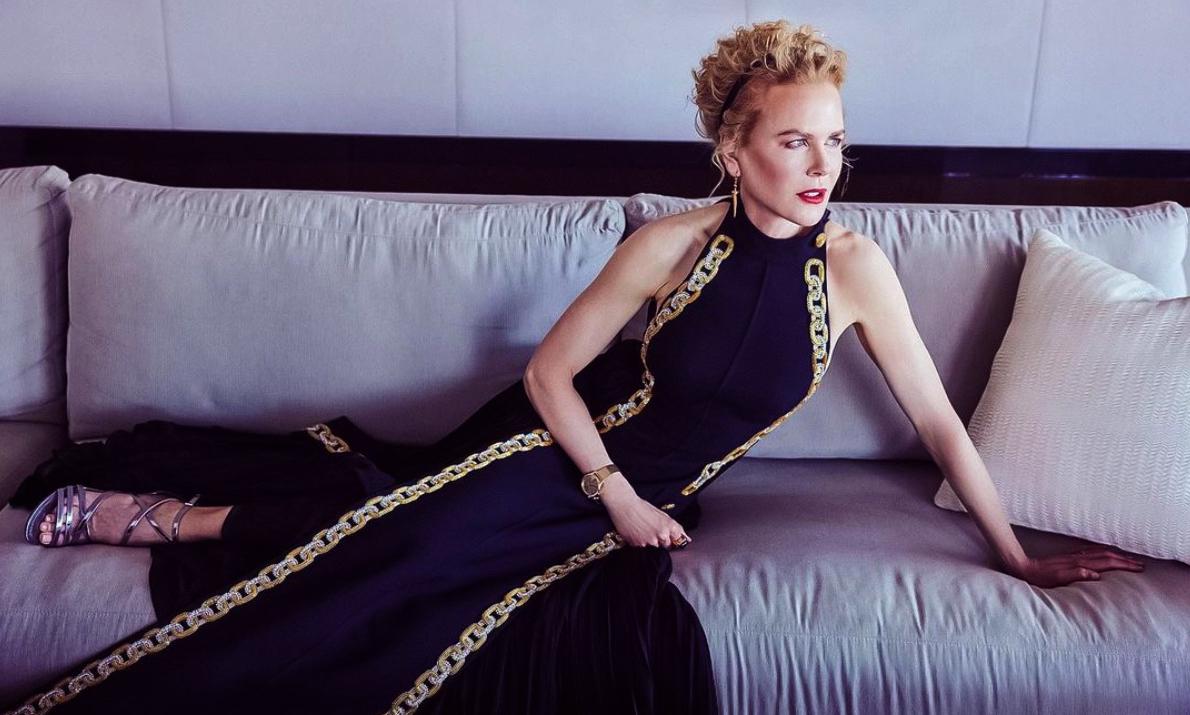 Nicole Kidman, en els Globus d'Or des de casa - Instagram