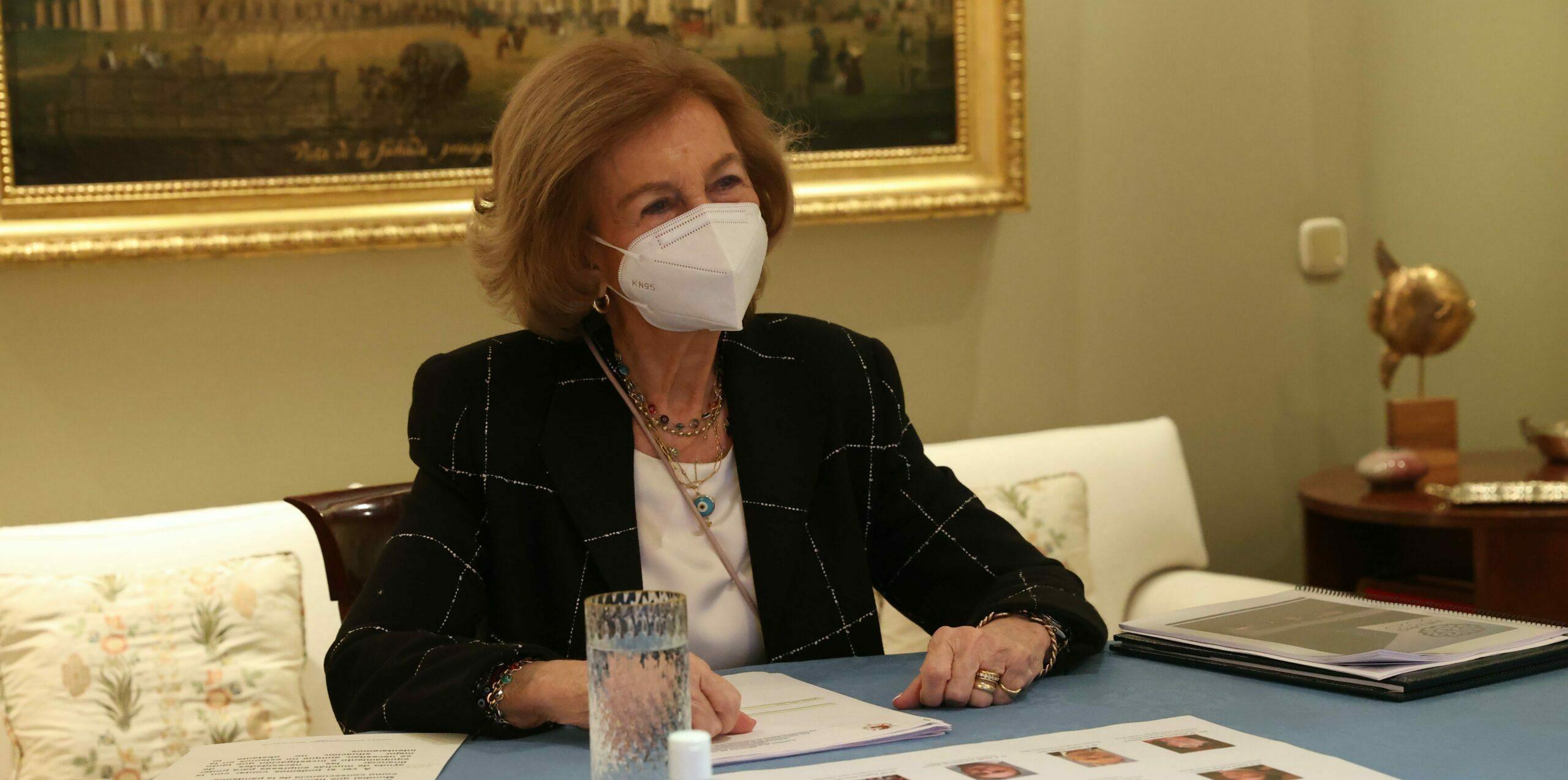 Sofia de Grècia presideix una comissió / Europa Press