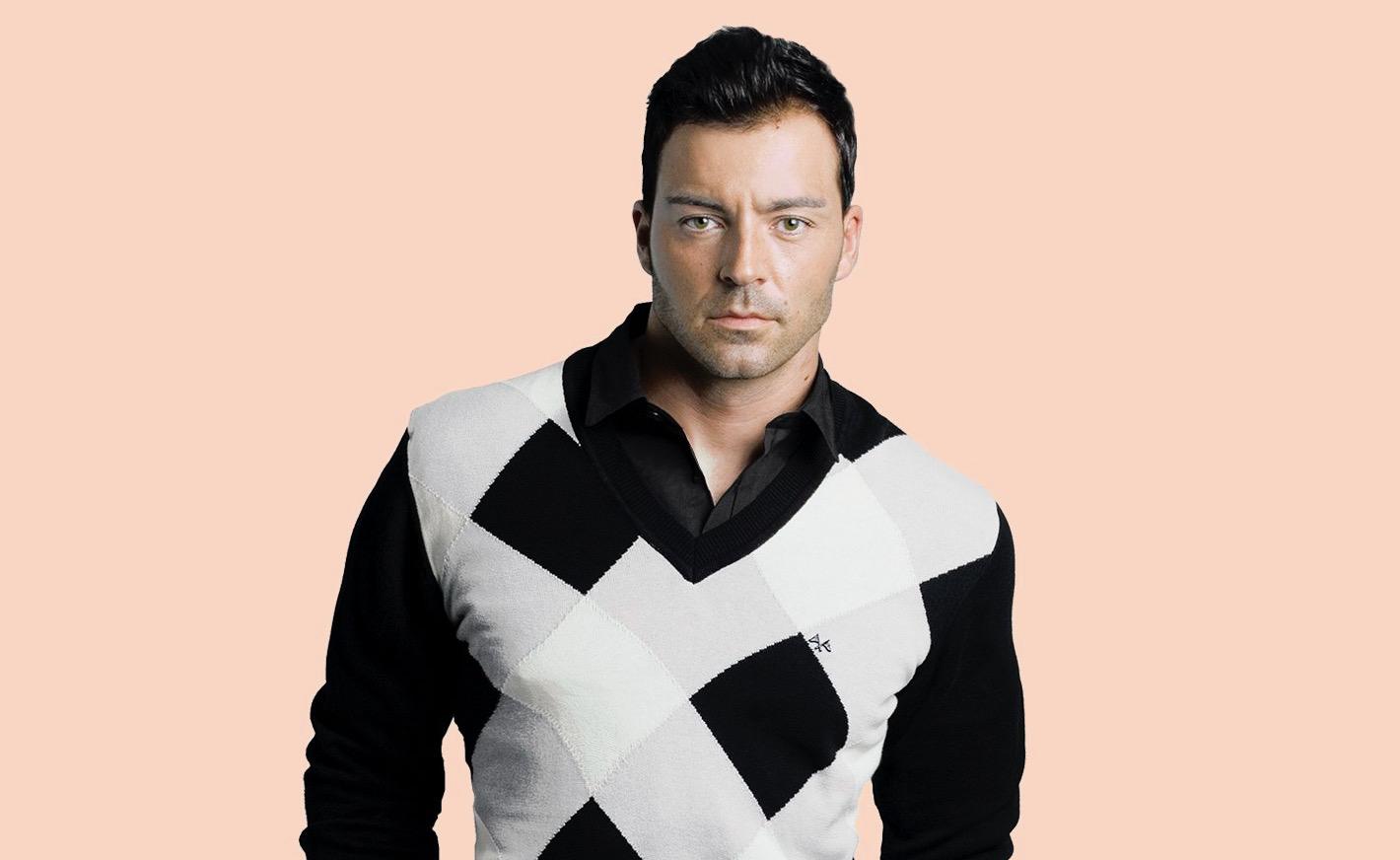 El cantant Juan Camus | Twitter @juancamus