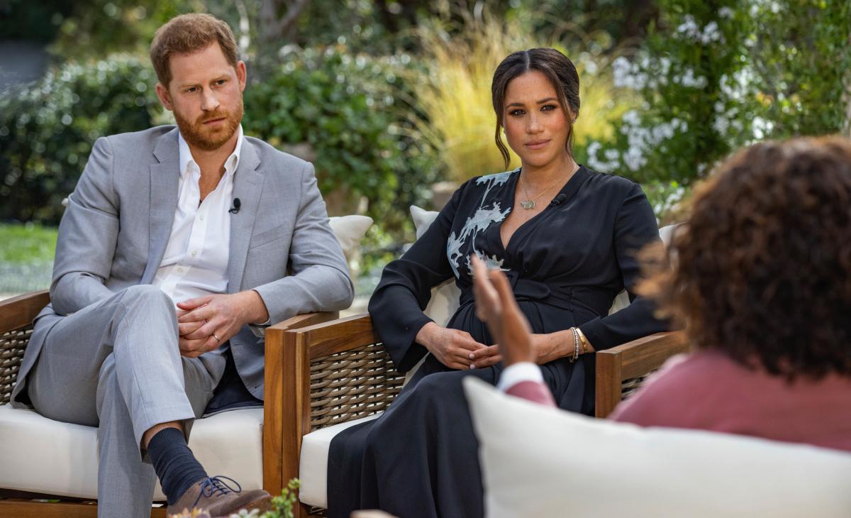Harry d'Anglaterra i Meghan Markle, entrevistats per Oprah - CBS