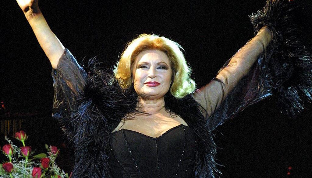 Rocío Jurado, en una foto d'arxiu _ Europa Press