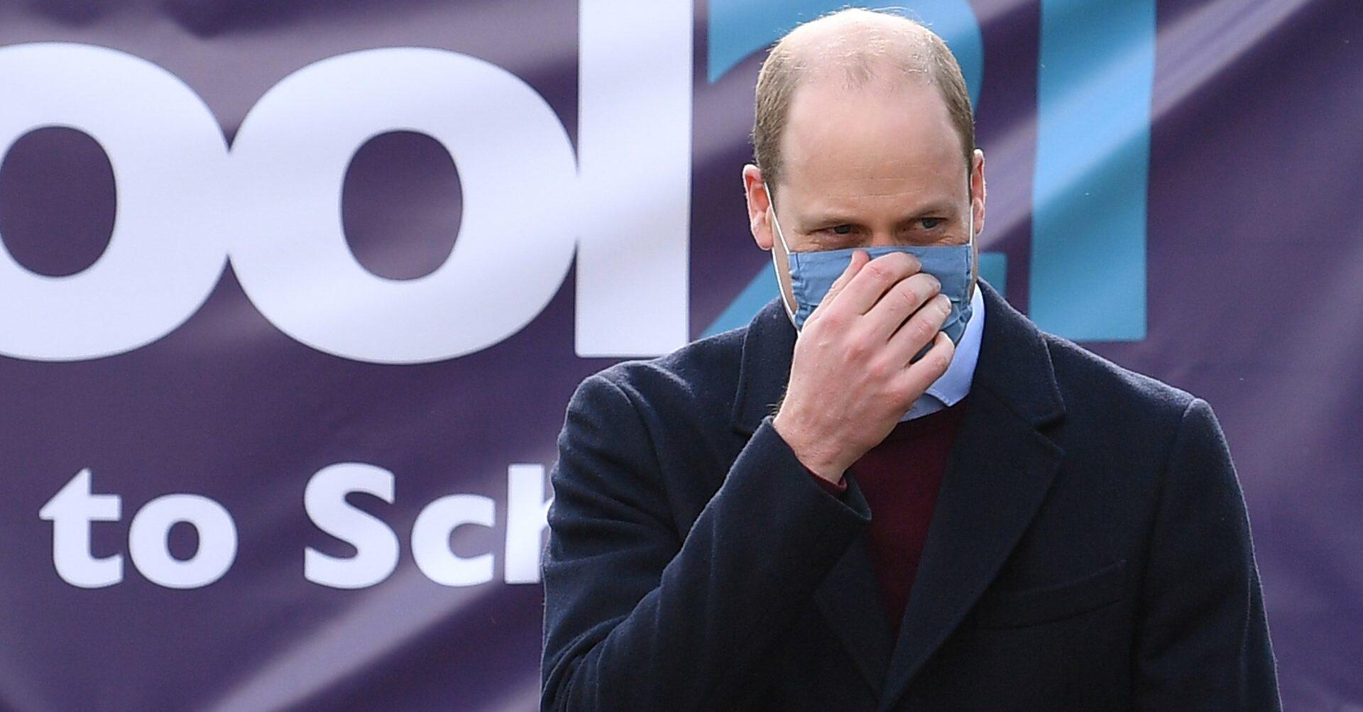 El príncep Guillem d'Anglaterra, aquest matí - Europa Press