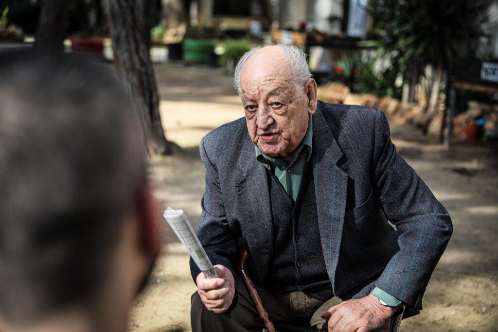 El Francisco a la residència La muntanyeta de El Vendrell / Jordi Borràs