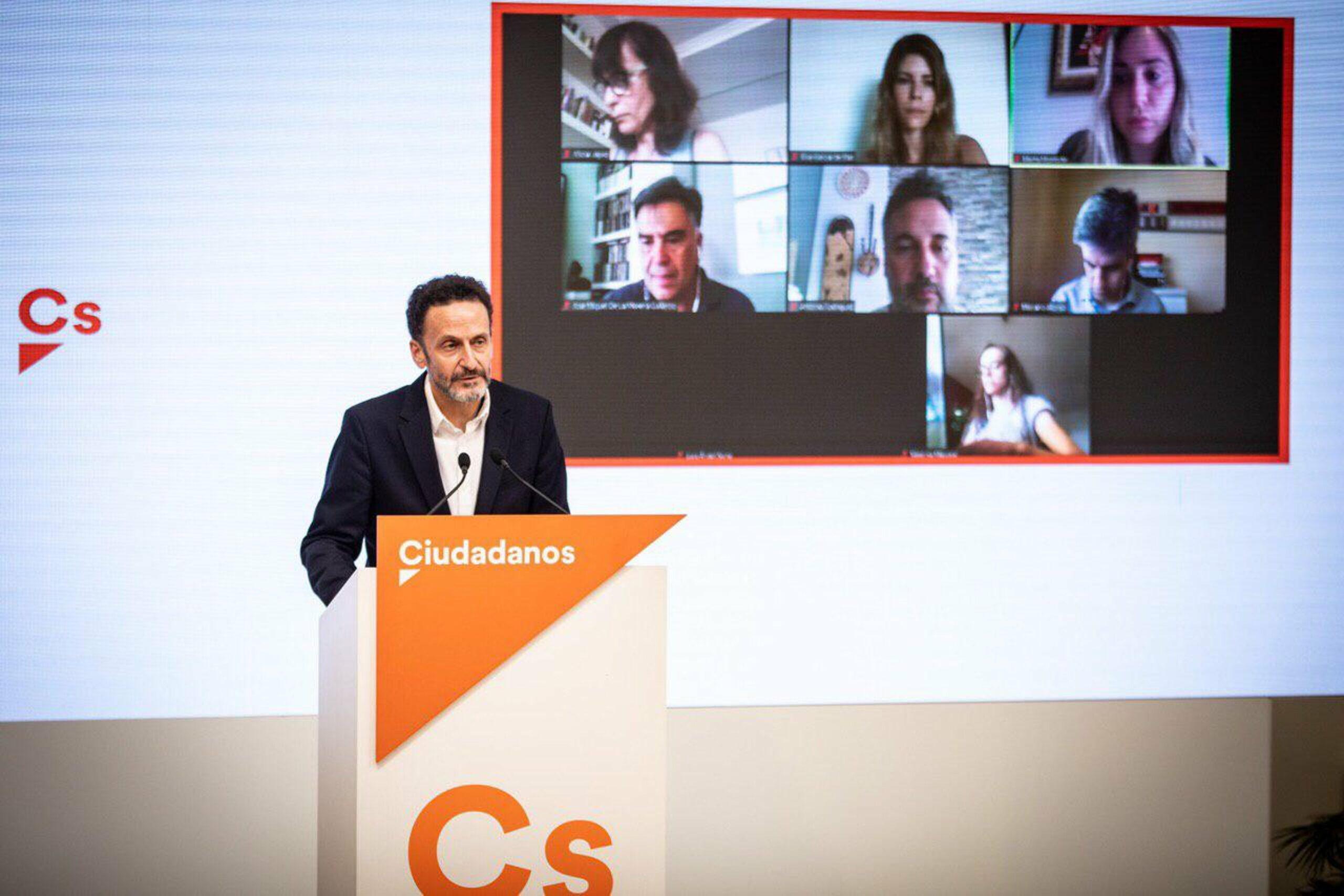 El portaveu adjunt de Cs al Congrés, Edmundo Bal (ACN)