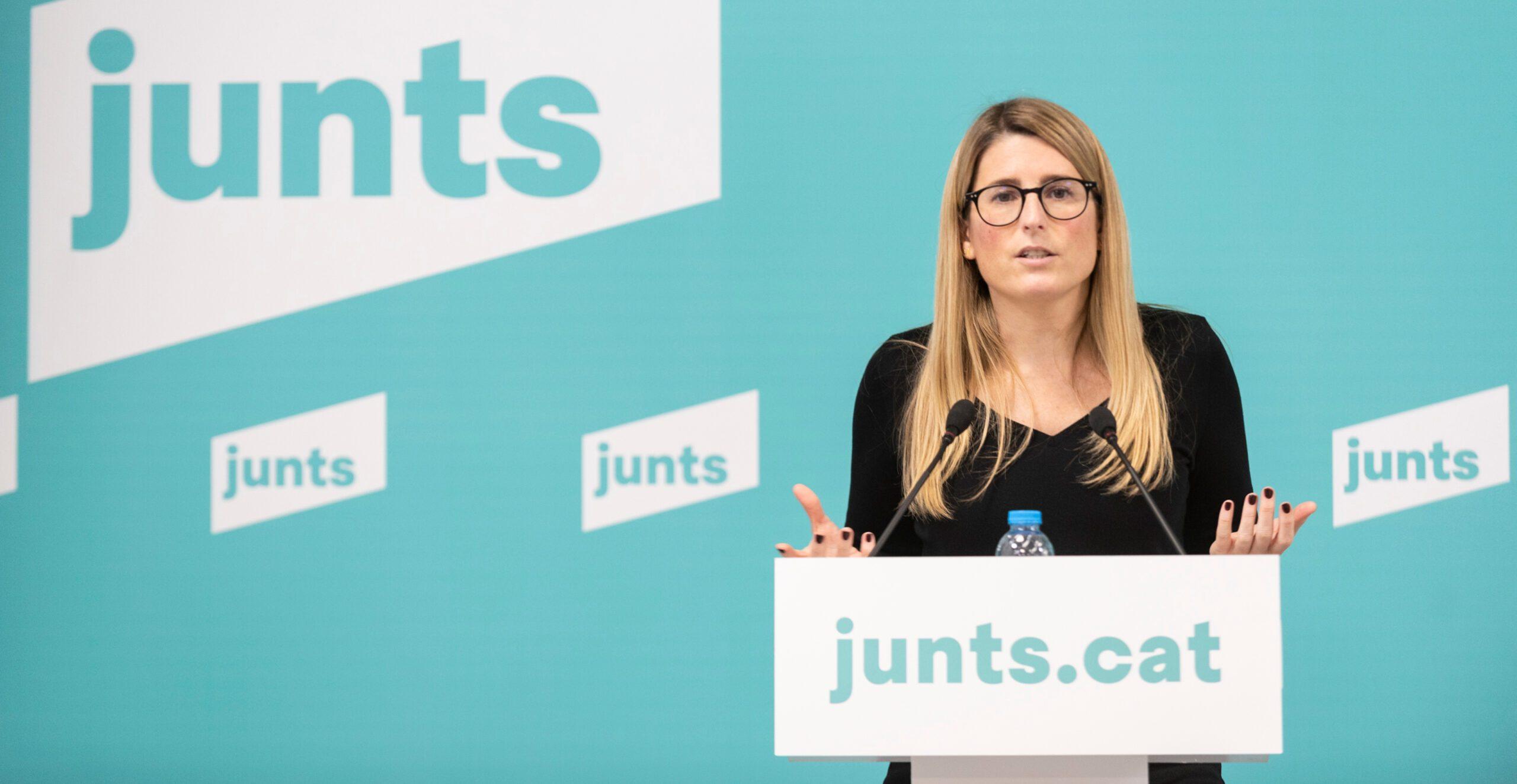 La vicepresidenta de JxCat, Elsa Artadi   ACN