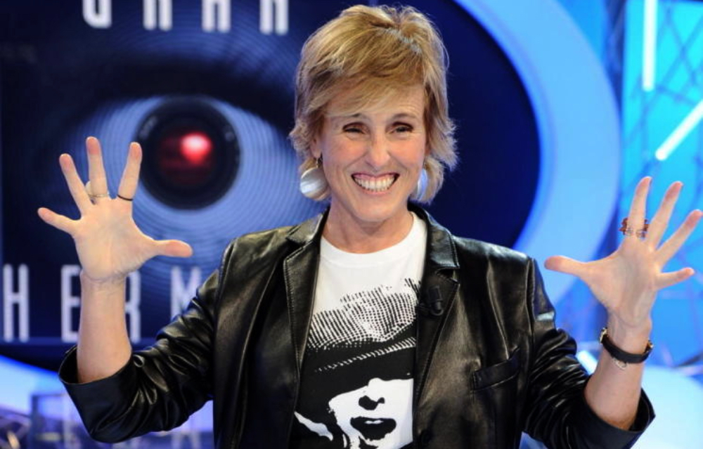 Mercedes Milá, quan presentava 'Gran Hermano' - Telecinco