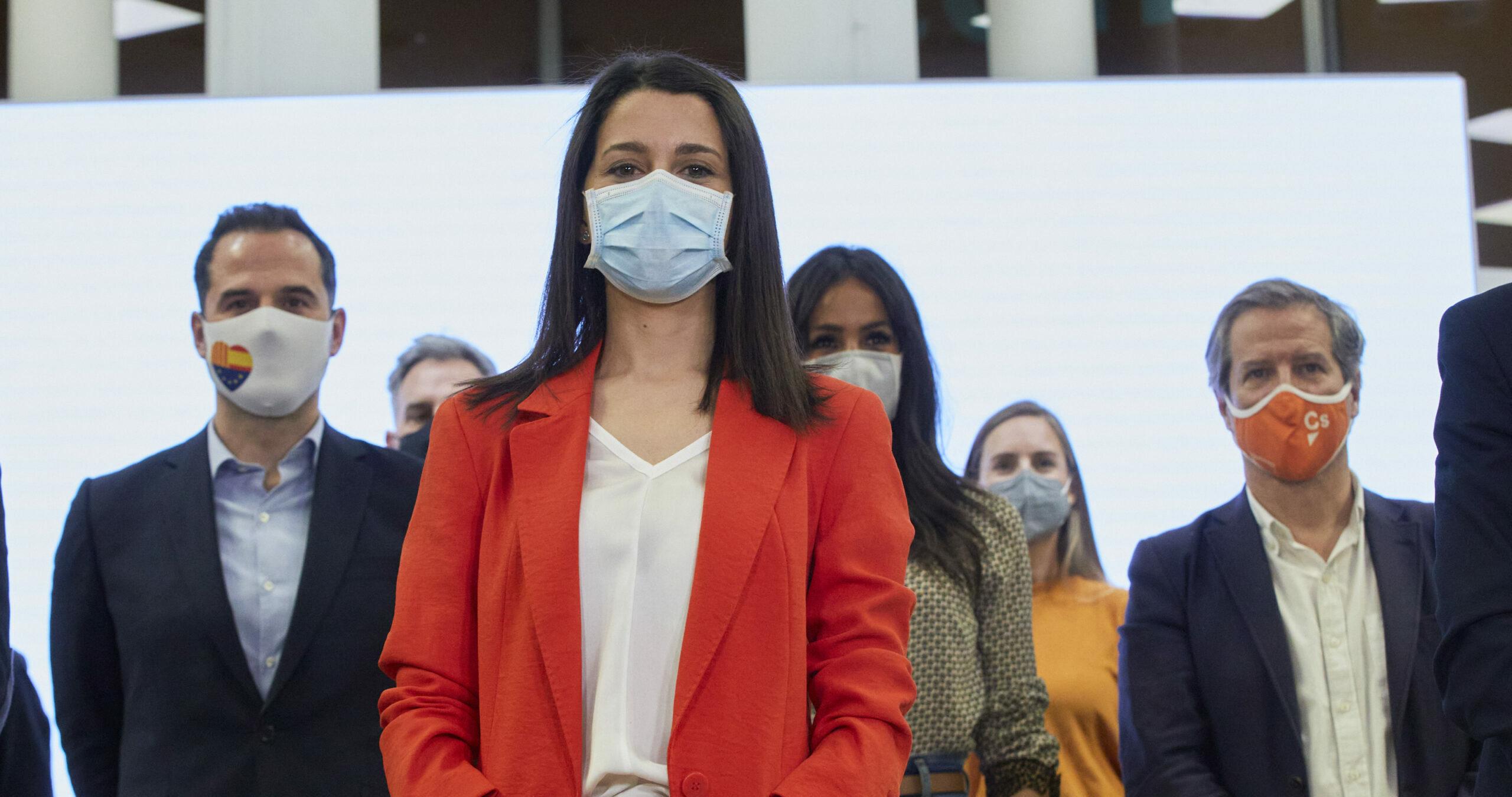 Inés Arrimadas després de l'executiva de Ciutadans en plena crisi / Europa Press
