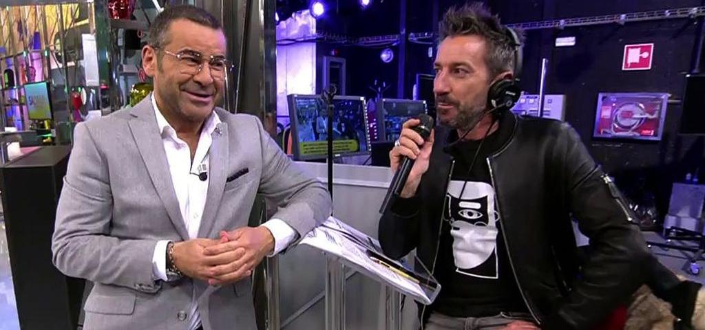 Jorge Javier Vázquez i David Valldeperas a 'Sálvame' - Telecinco