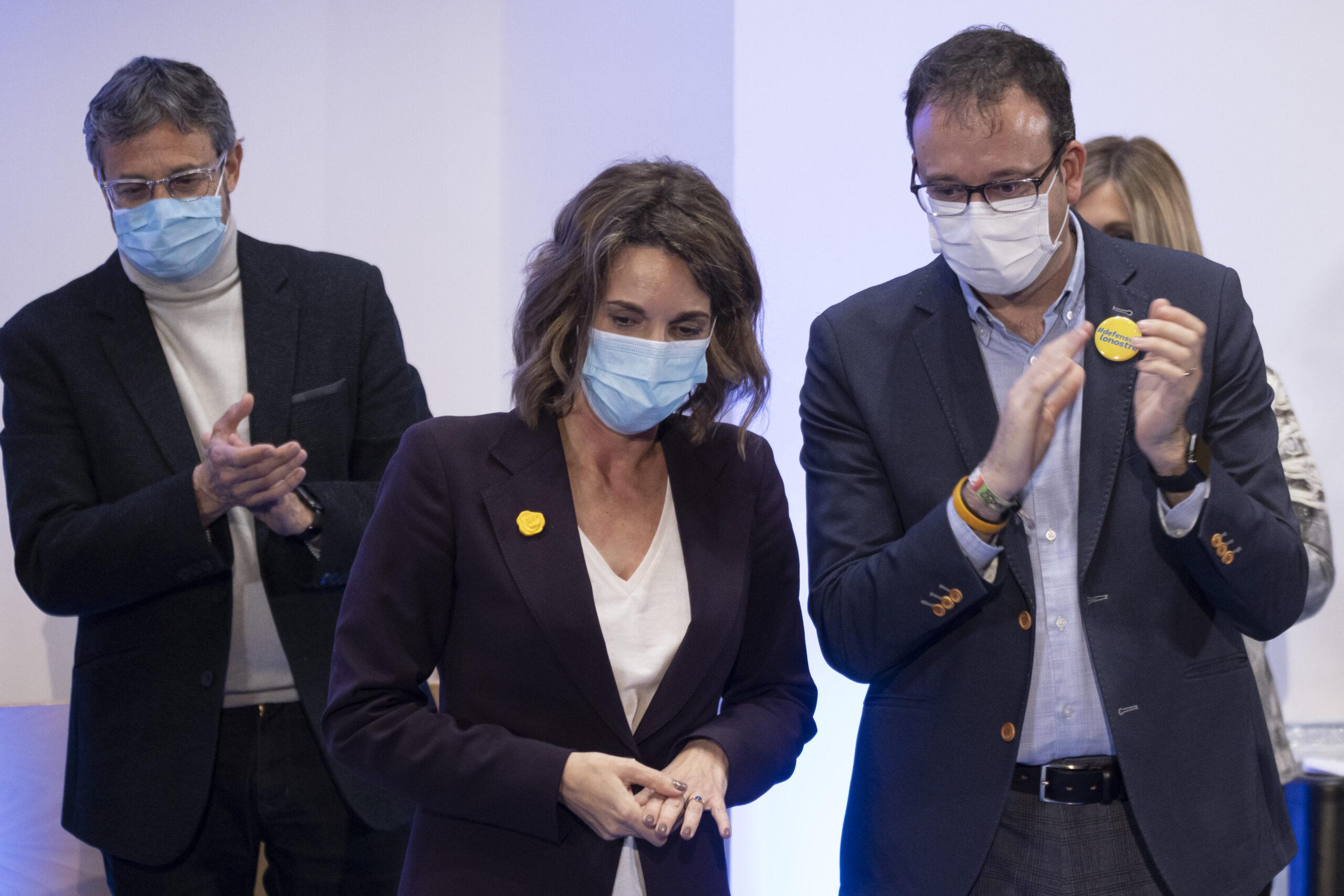 La candidata del PDeCAT a les eleccions, Àngels Chacón   ACN