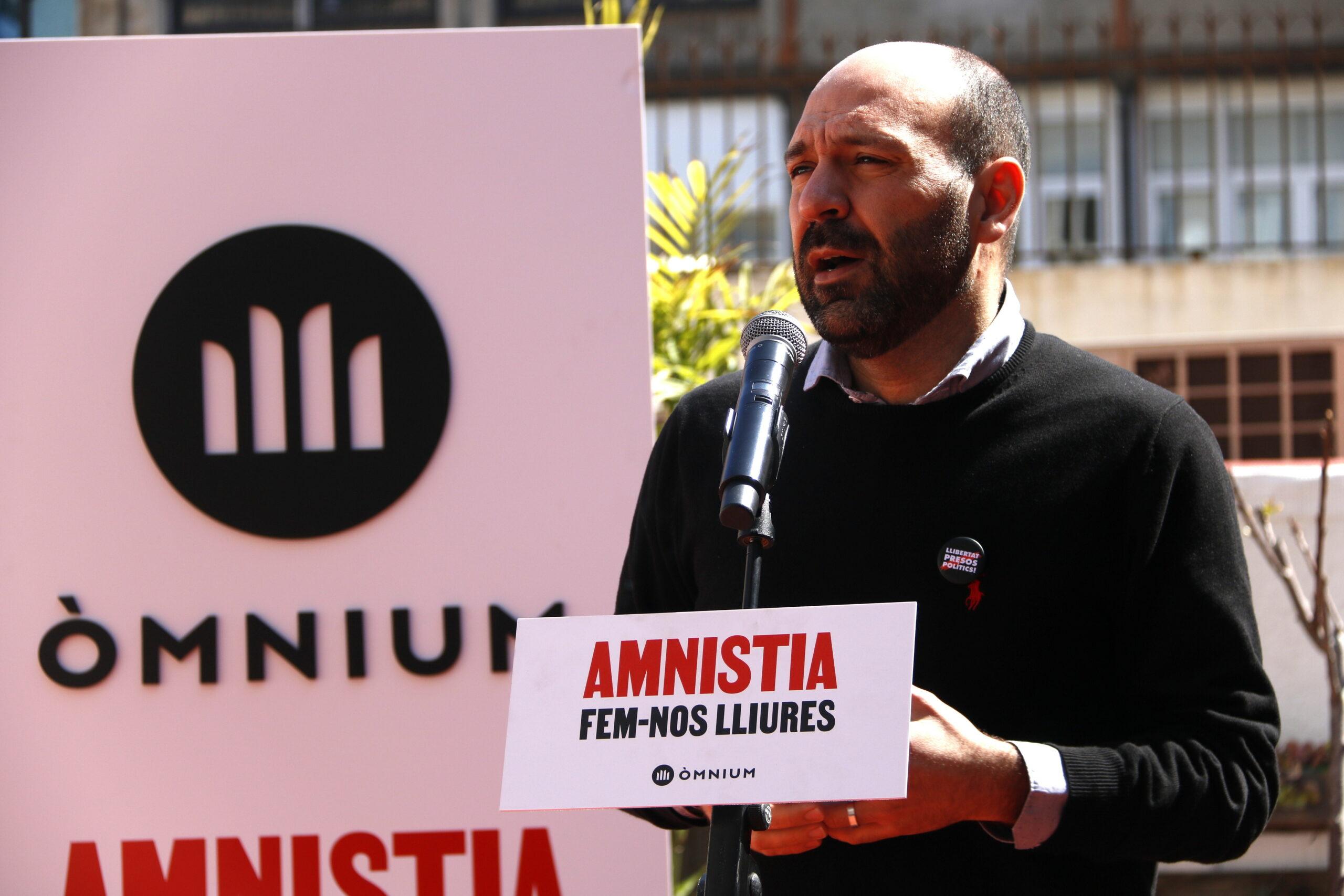 El vicepresident d'Òmnium Cultural, Marcel Mauri | ACN