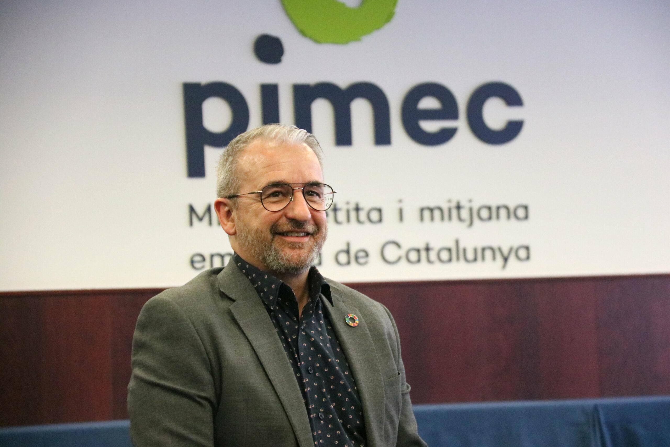 El nou secretari general de PIMEC, Josep Ginesta / ACN