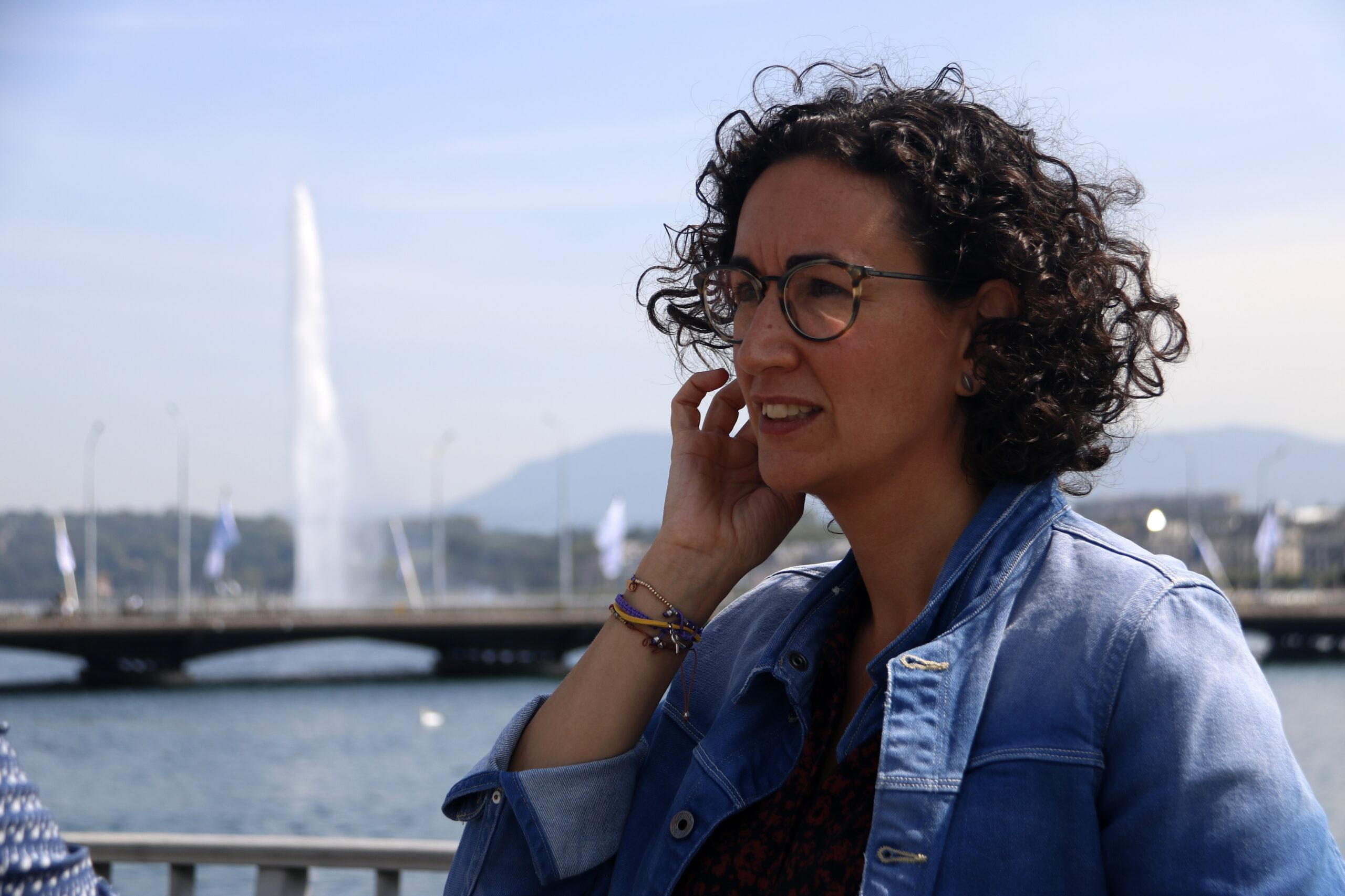 La secretària general d'ERC, Marta Rovira   ACN