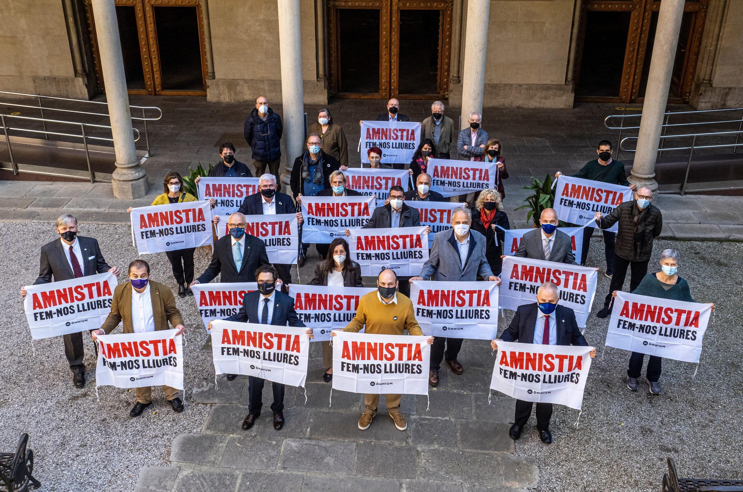 Universitats i acadèmics reclamen l'amnistia per als presos de l'1-O ACN