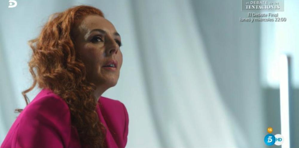 Rocío Carrasco, en la segona entrega del documental - Telecinco