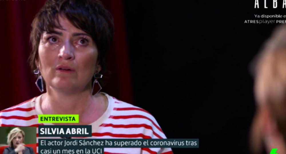 Sílvia Abril plora a 'Liarla Pardo' - La Sexta