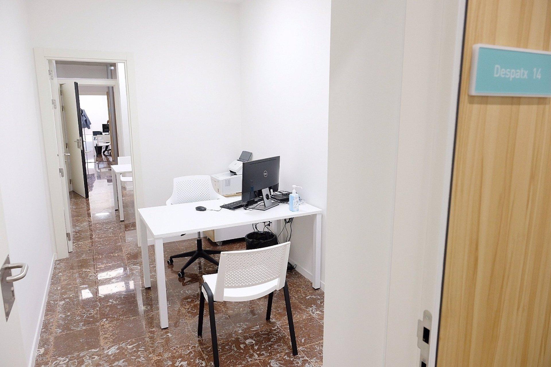 Consulta del Centre de Salut Mental i Adiccions del barri de Gràcia de Barcelona / EP
