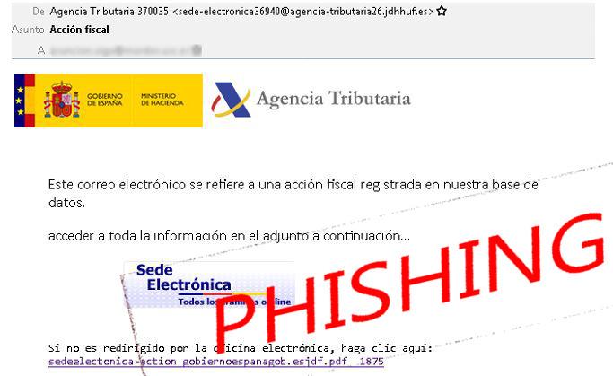 Imatge distribuïda pels Mossos per alertar d'una campanya de 'phishing'