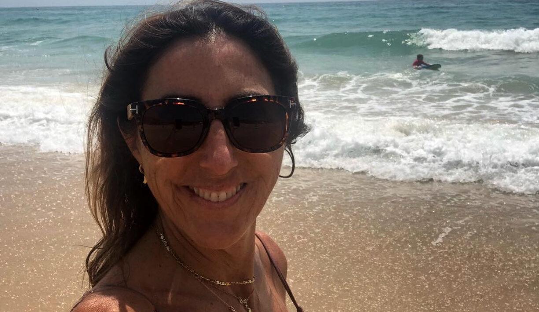 Paz Padilla, a la platja - Instagram