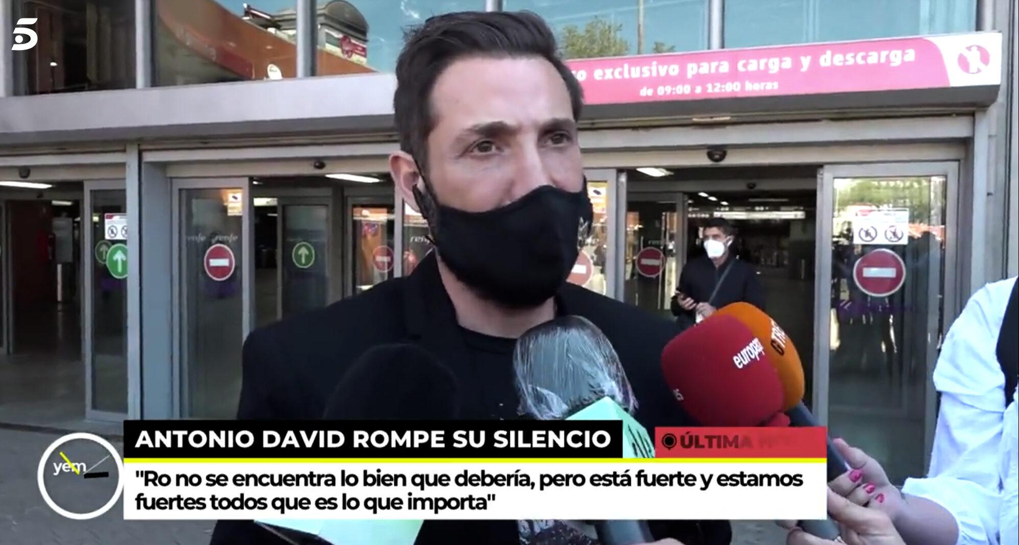 Primeres declaracions d'Antonio David Flores - Telecinco