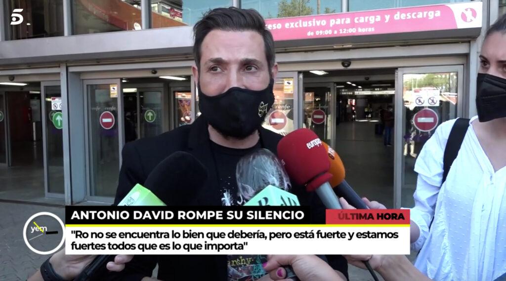 Antonio David Flores reapareix públicament / Telecinco
