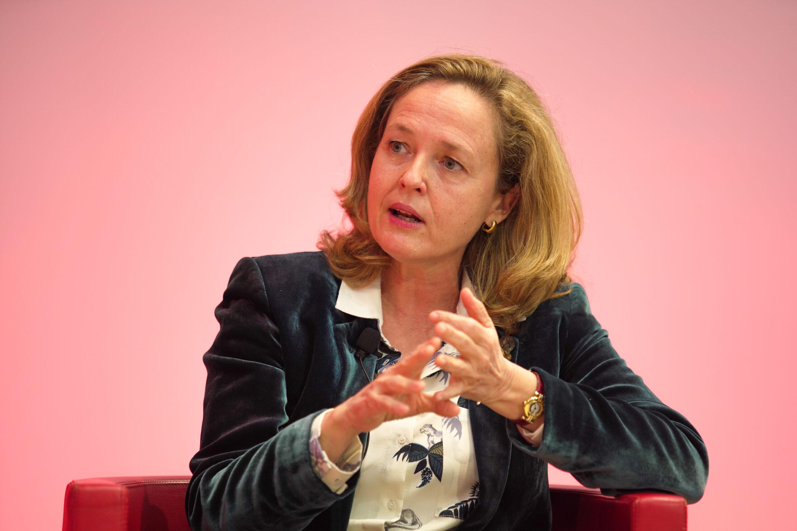La vicepresidenta tercera i ministra d'Afers Econòmics, Nadia Calviño | ACN