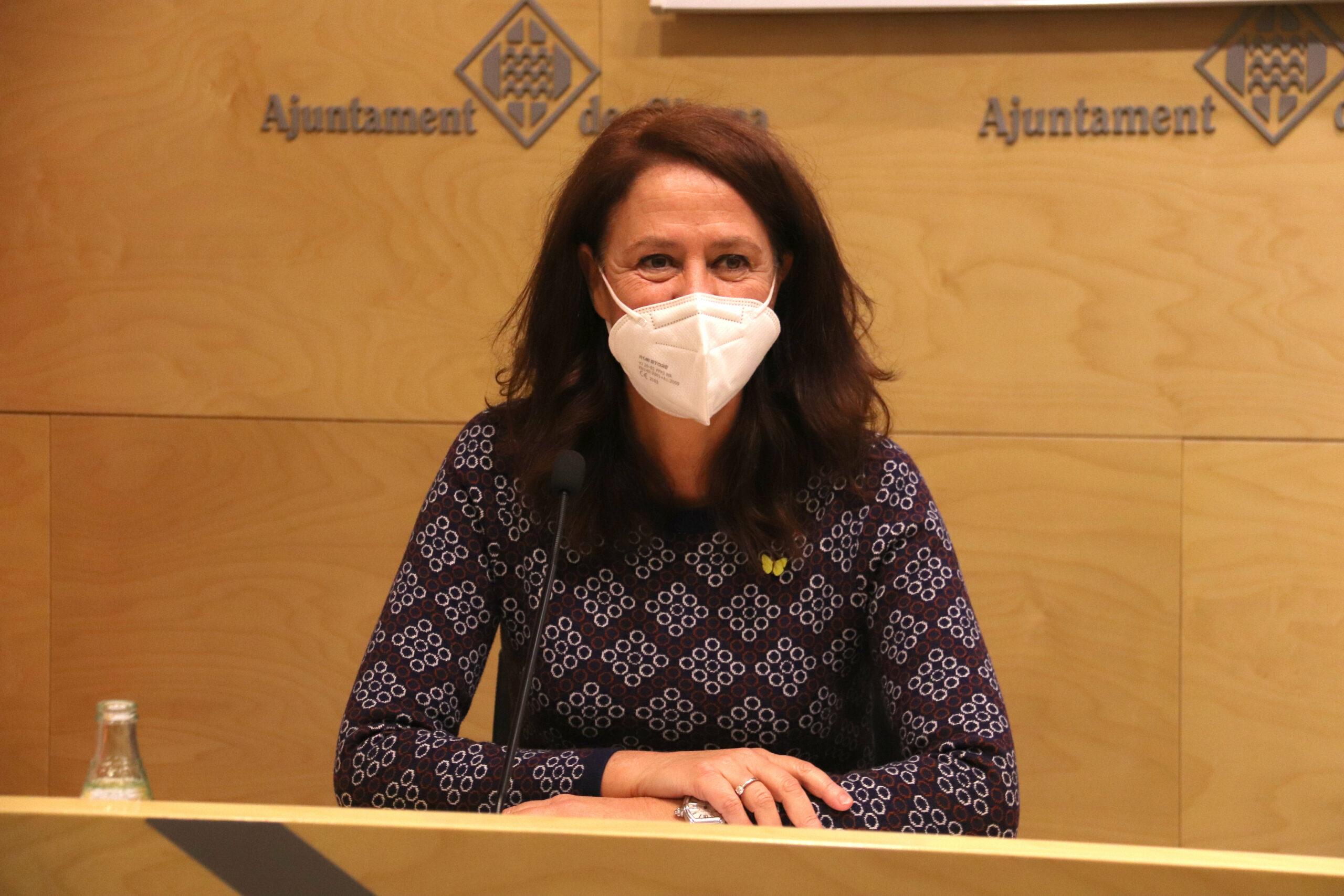 L'alcaldessa de Girona, Marta Madrenas (ACN)