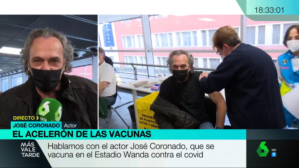 José Coronado, vacunat - La Sexta