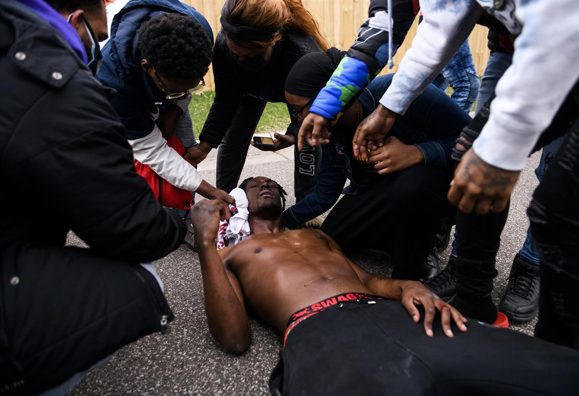 L'afro-americà Daunte Wright, mort a Minnesota després de rebre un tret al coll d'un agent de la Policia - STEPHEN MATUREN / Europa Press