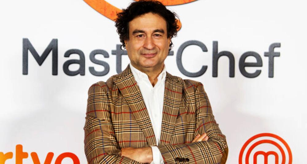 Pepe Rodríguez, a la presentació del nou 'Masterchef' - TVE