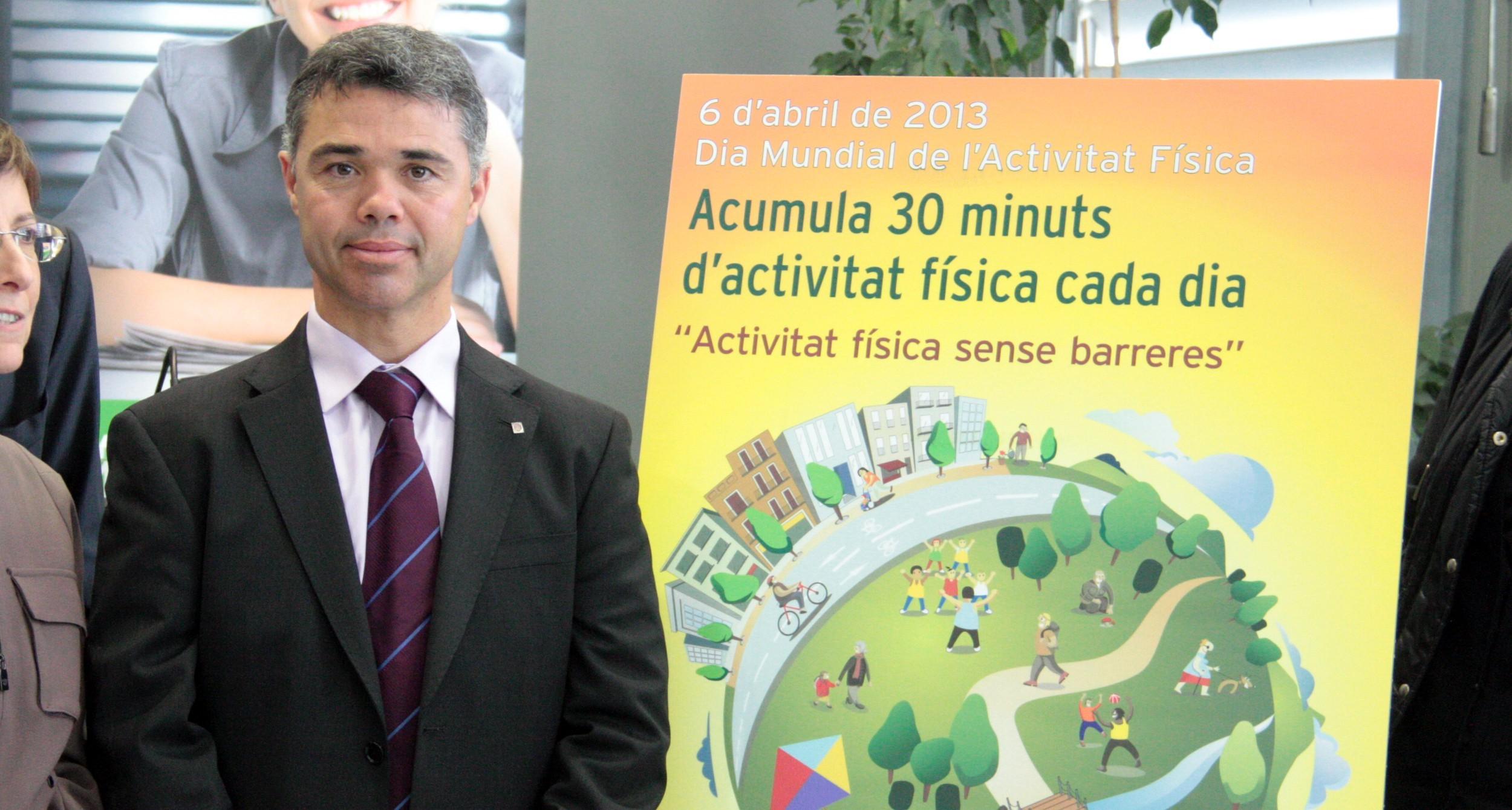 L'exsecretari general de l'Esport Ivan Tibau | ACN