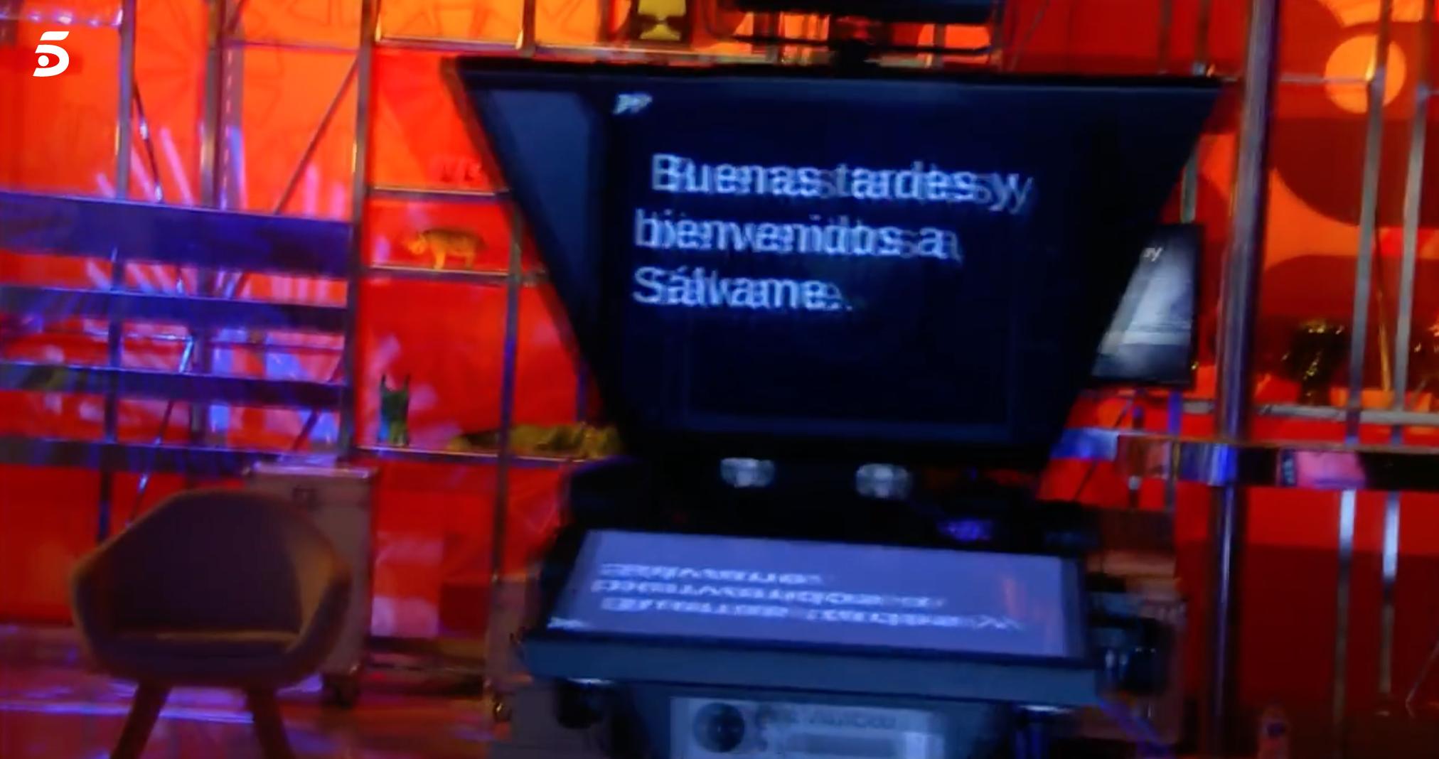 Inici del programa 'Sálvame' sense presentador | Telecinco