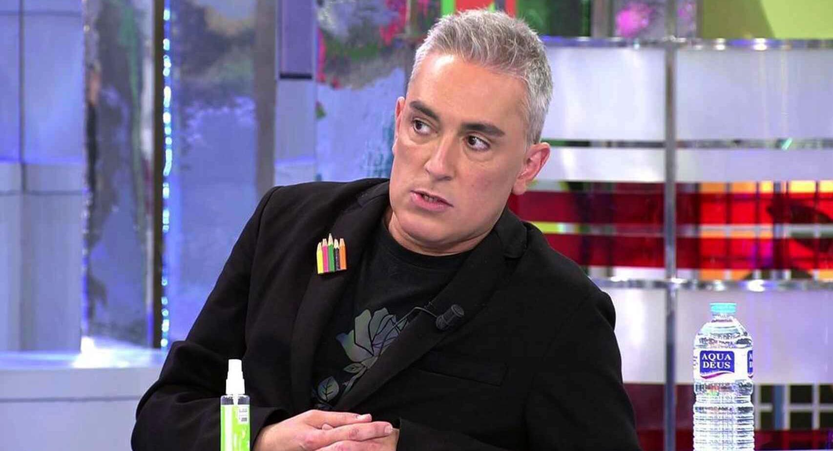 Kiko Hernández, amenaçat per Jorge Javier - Telecinco