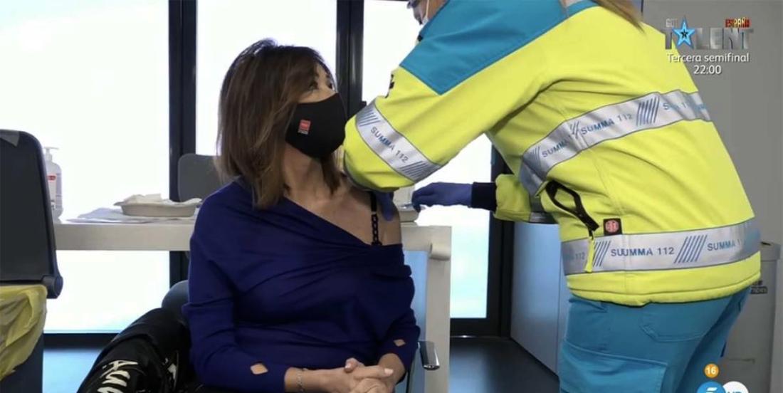 Ana Rosa Quintana es vacuna - Telecinco