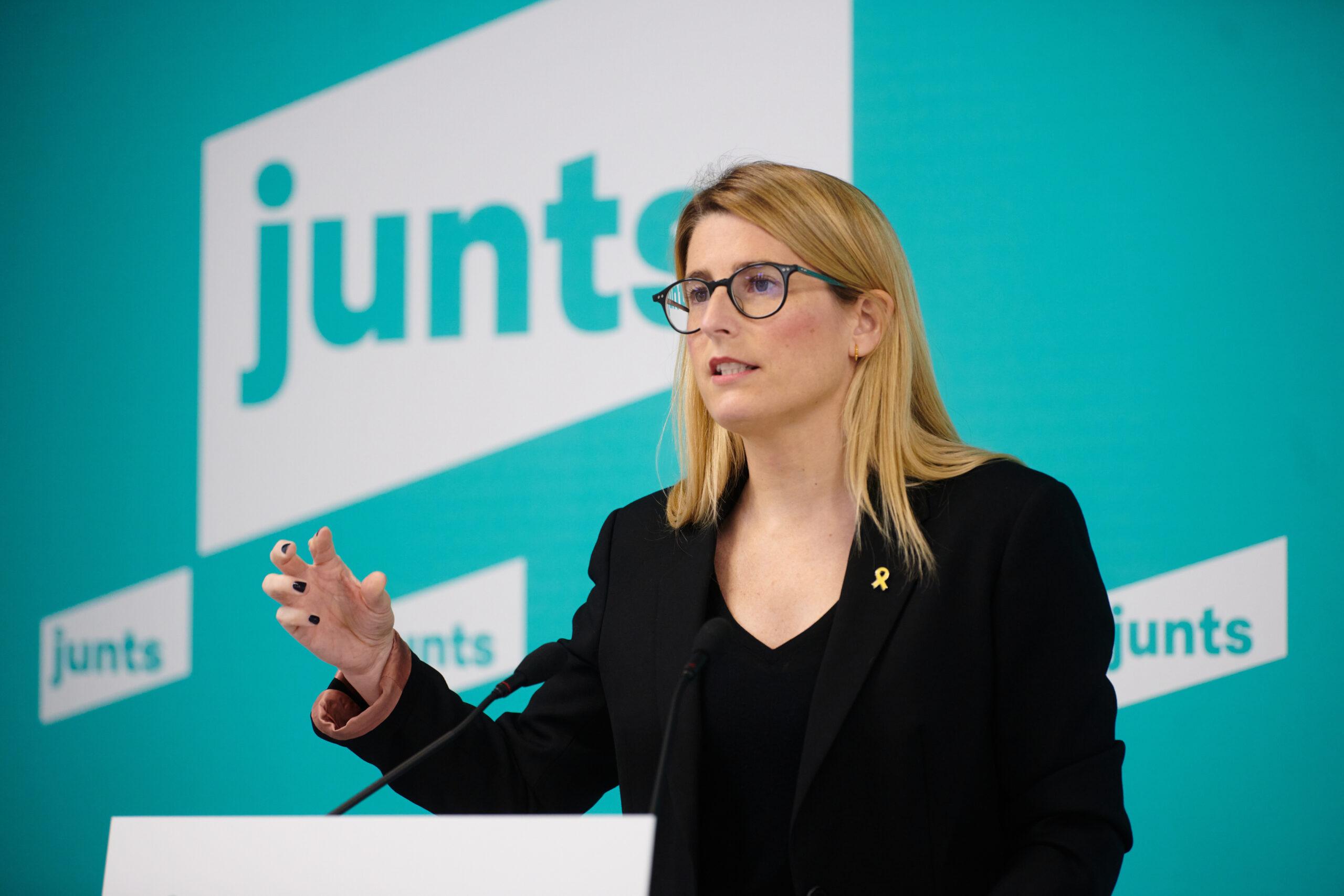 La portaveu de Junts, Elsa Artadi | ACN
