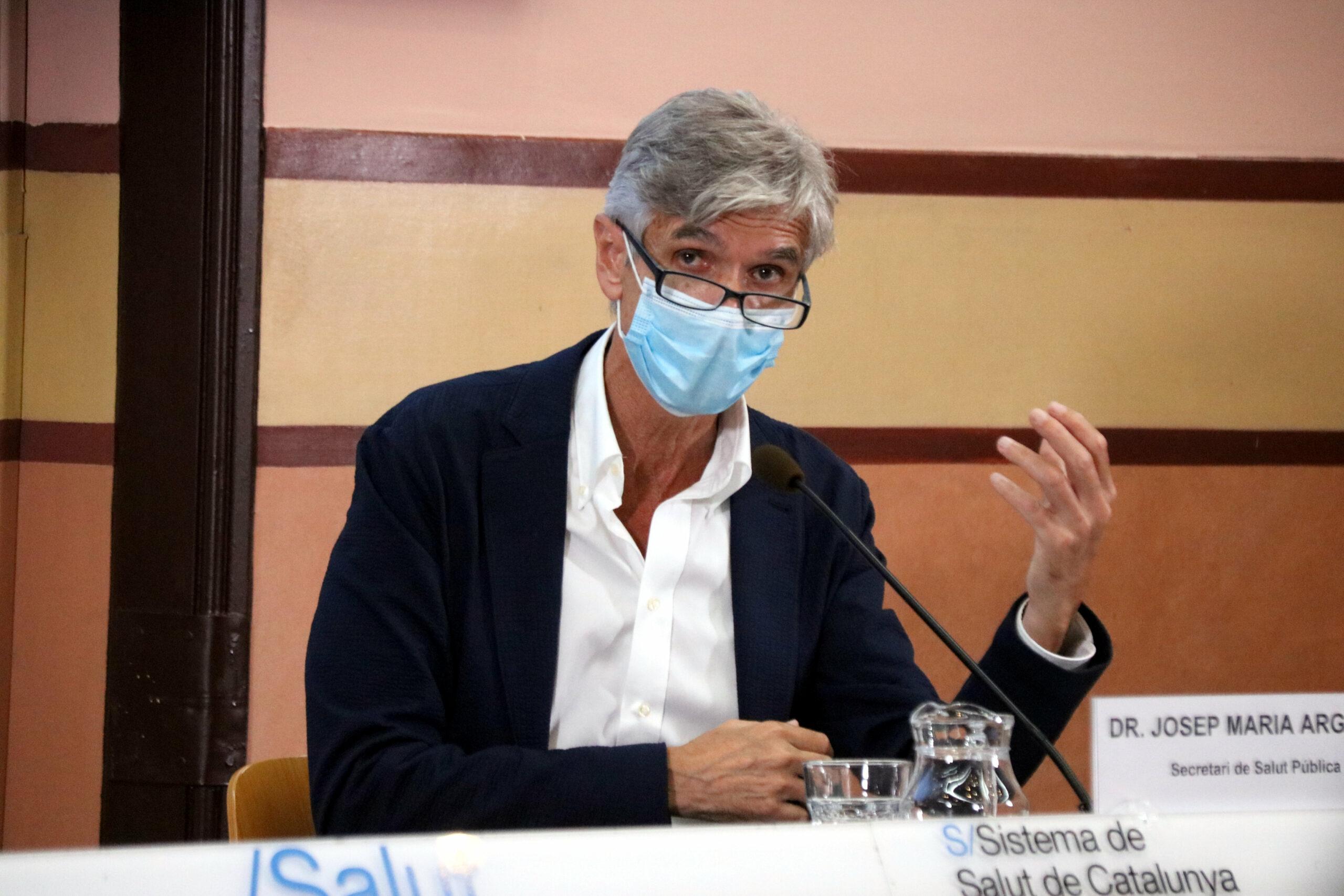 El secretari de Salut Pública, Josep Maria Argimon | ACN