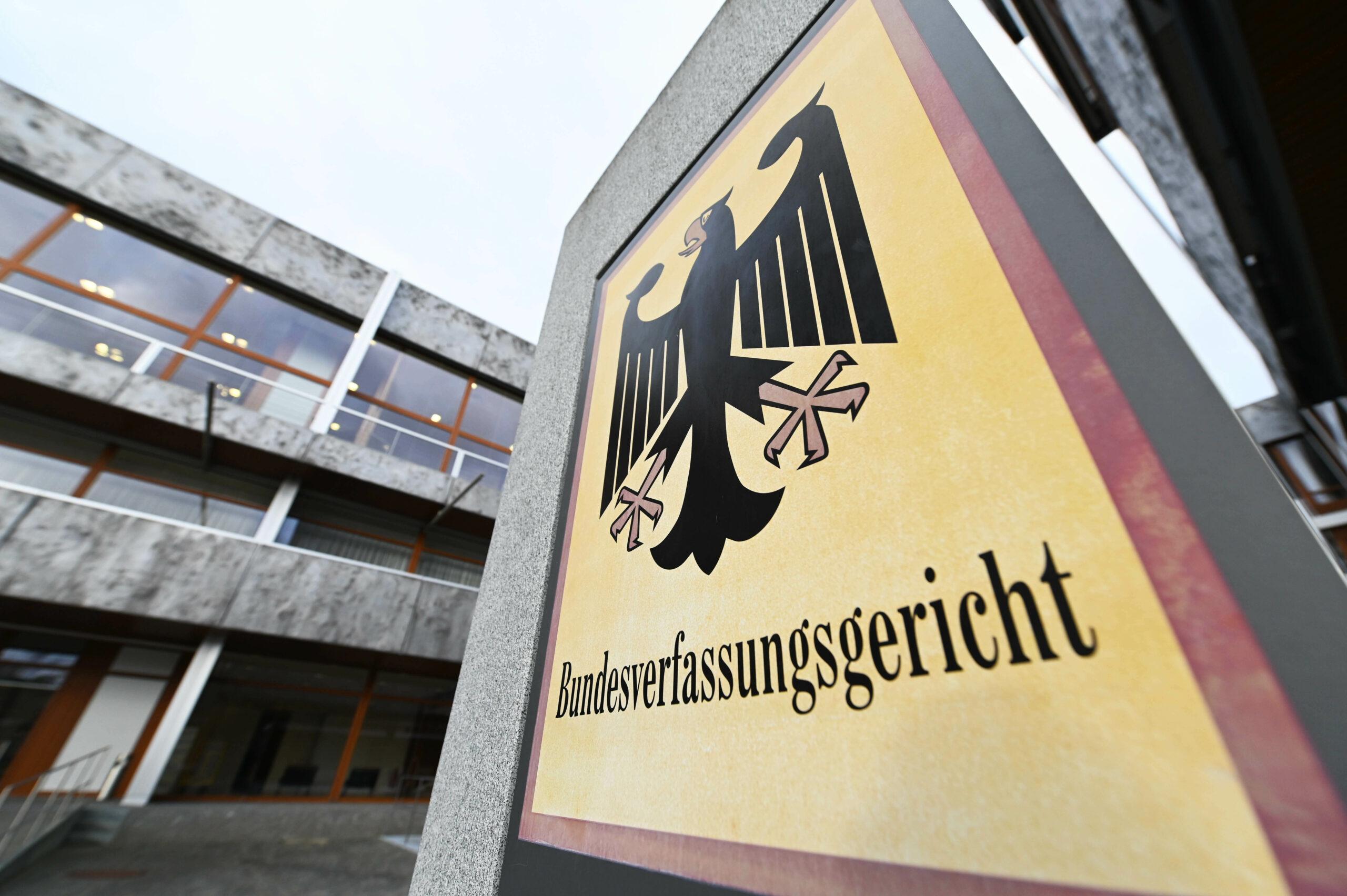 Exterior del Tribunal Constitucional alemany   Europa Press