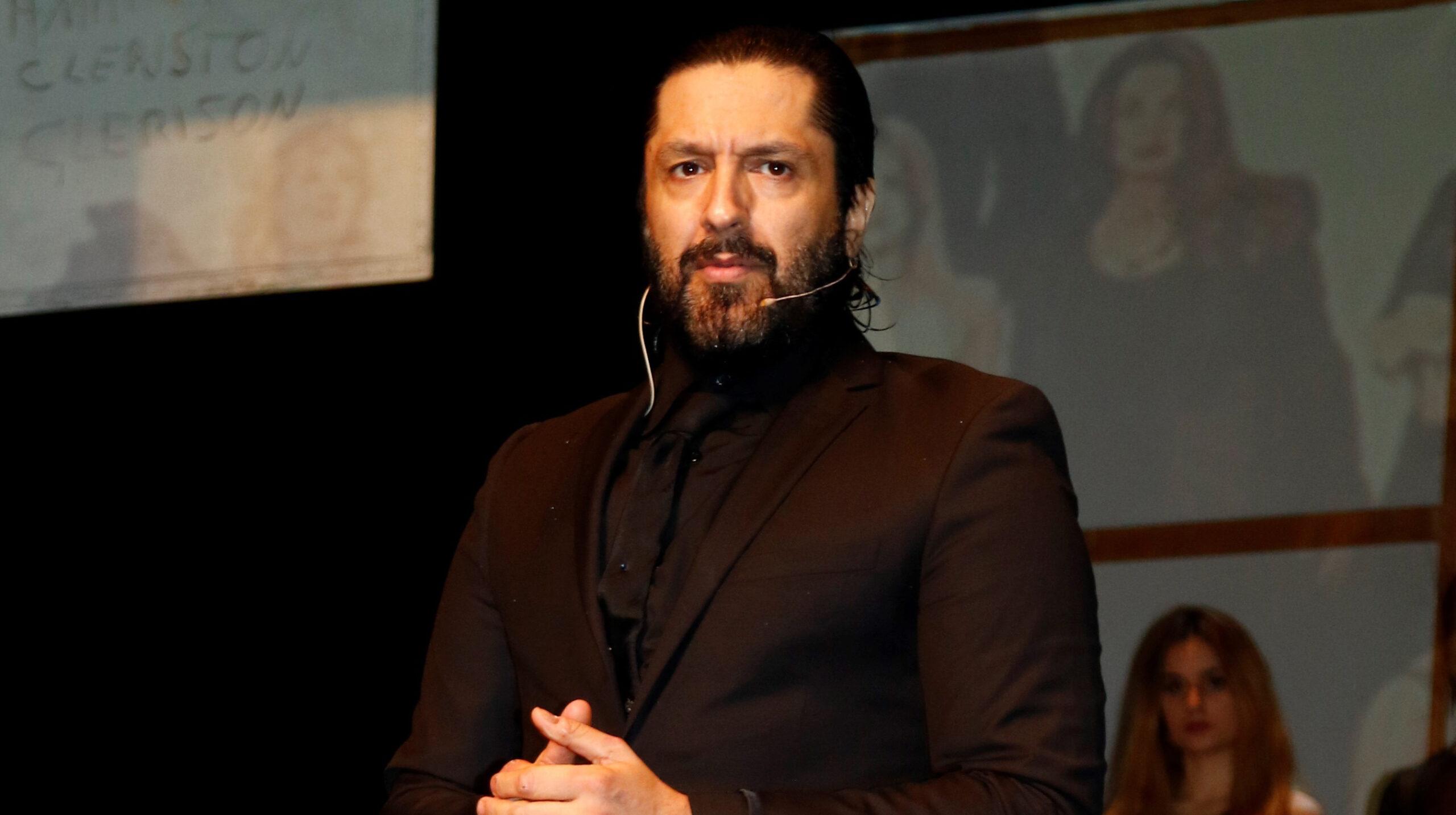 Rafael Amargo, en una estrena teatral - Europa Press
